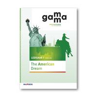 GaMMa - 2e editie Themaboek The American dream themaboek 1 vmbo-bk 2016
