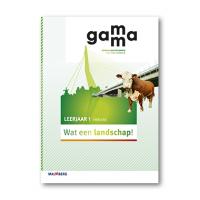 GaMMa - 2e editie Themaboek Wat een landschap themaboek 1 vmbo-bk 2016