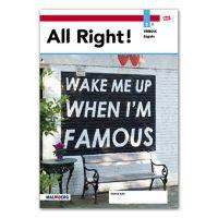 All Right! - MAX leerwerkboek vmbo bovenbouw Deel a 3 vmbo-k 2020