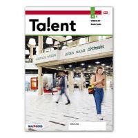 Talent - MAX leerwerkboek vmbo bovenbouw Deel a 4 vmbo-gt 2020