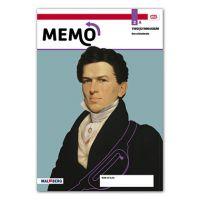 Memo - MAX leeropdrachtenboek onderbouw Deel a 2 vwo 2020